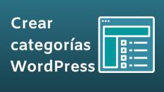 crear categorías wordpress