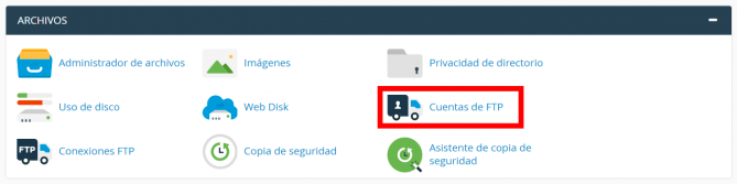 Acceder a WordPress mediante FTP
