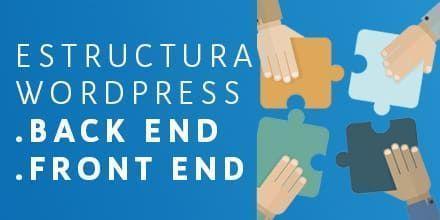 estructura de wordpress