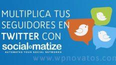 Cómo multiplicar seguidores en Twitter con SocialMatize