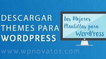 Donde descargar themes para wordpress