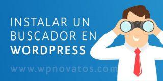 Instalar un buscador en WordPress