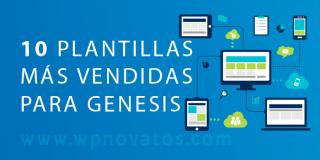 Las 10 plantillas más vendidas para Genesis Framework