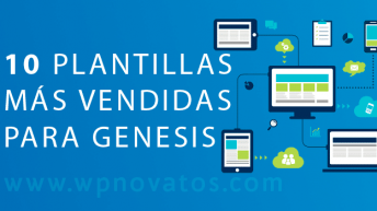 10 Plantillas más vendidas para WordPress