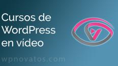 Cursos Wordpress Video