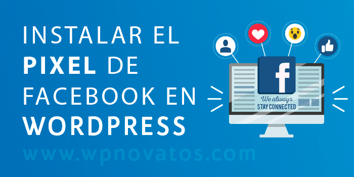 instalar pixel de facebook en wordpress 1