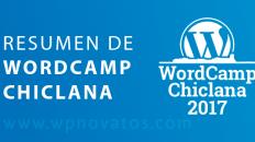 resumen wordcamp chiclana 2017