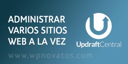 updraftcentral-administrar-varios-wordpress