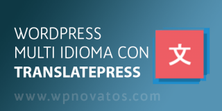 WordPress multi idioma con TranslatePress