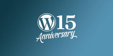 15wp 15 años wordpress