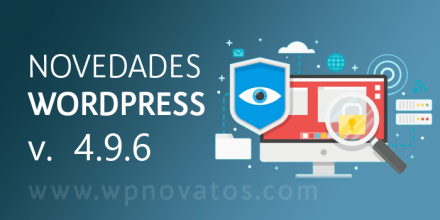 novedades-wordpress-4-9-6