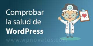 Comprobar la salud de WordPress