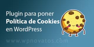 Plugin para política de cookies