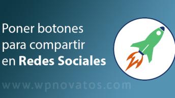 poner botones compartir redes sociales
