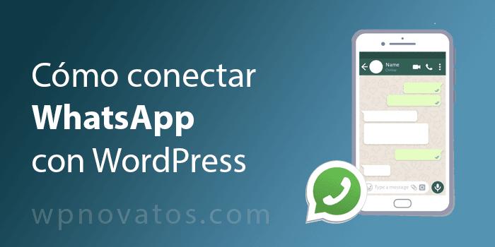 conectar whatsapp con WordPress