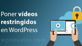 videos restringidos wordpress
