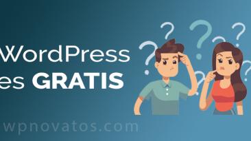 Wordpress Es Gratis